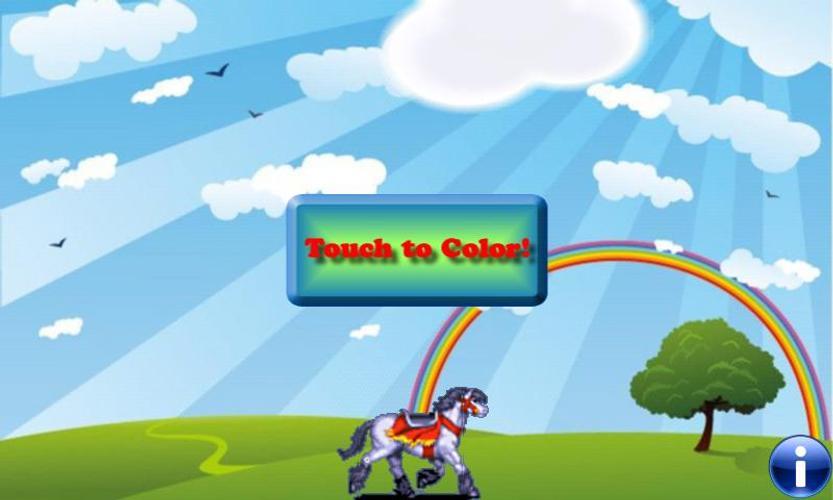 Libro para colorear: caballos Descarga APK - Gratis Educativos Juego ...