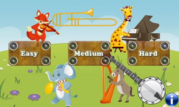 Music Games for Toddlers and little Kids poster