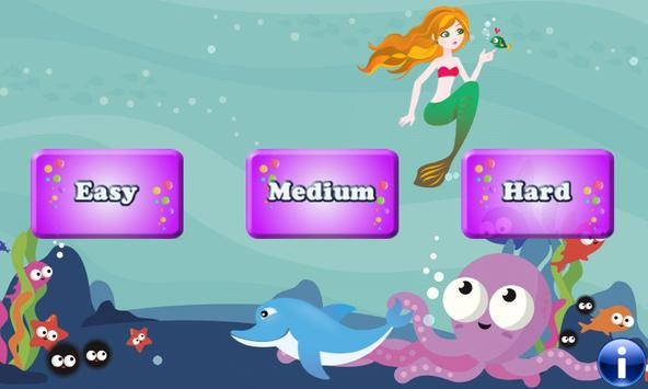 Mermaids and Fishes for Kids poster