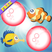 Fishes Match Game for Kids ! icon