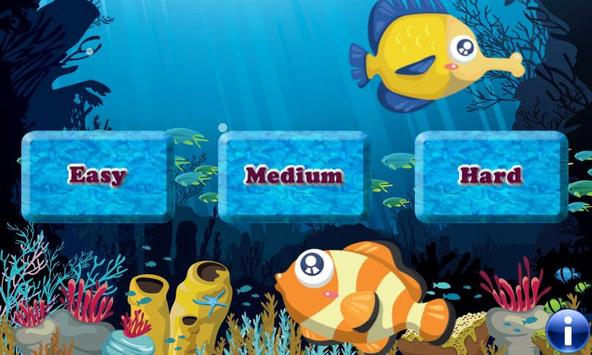 Fishes Match Game for Kids ! poster