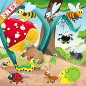 Worms and Bugs for Toddlers - Games for Toddlers icon