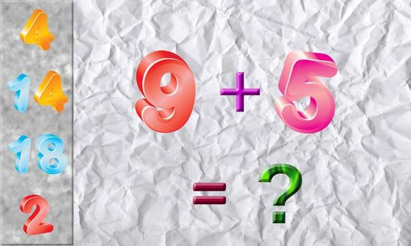 Puzzles Math Game for Kids - Math Games to Learn screenshot 1