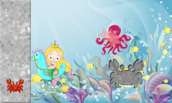 Mermaid Puzzles for Toddlers screenshot 5