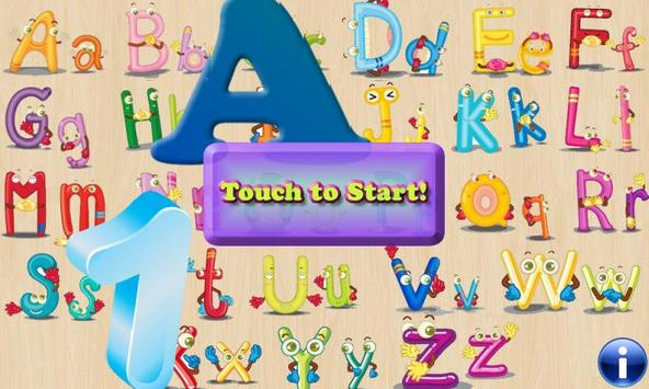 Alphabet Puzzles for Toddlers! poster