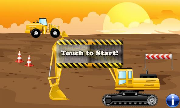 Digger Puzzles for Toddlers poster