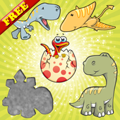 Dinosaurs Puzzles for Toddlers - Dino Kids Puzzle icon