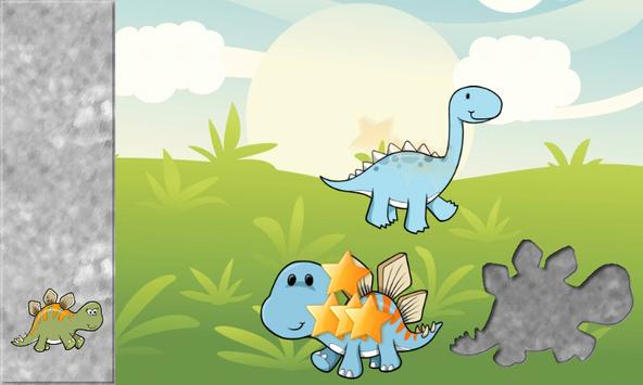Dinosaurs Puzzles for Toddlers - Dino Kids Puzzle screenshot 2