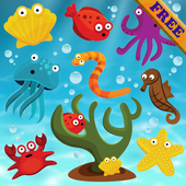 Fishes Puzzles for Toddlers -Puzzle Games for Kids icon