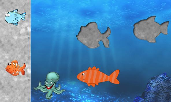 Fishes Puzzles for Toddlers -Puzzle Games for Kids apk screenshot