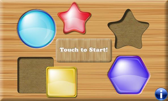 Shapes and Colors for Toddlers & Kids - Edu game poster