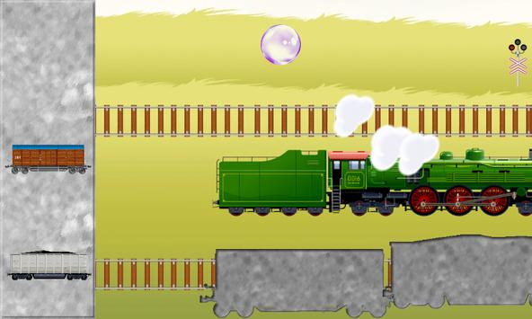 Toy Train Puzzles for Toddlers - Kids Train Game apk screenshot
