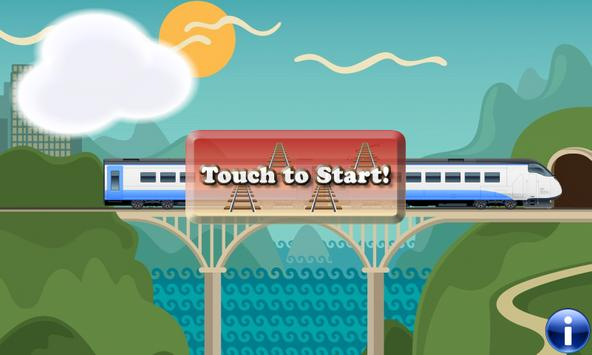 Toy Train Puzzles for Toddlers - Kids Train Game poster