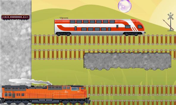 Toy Train Puzzles for Toddlers - Kids Train Game screenshot 1