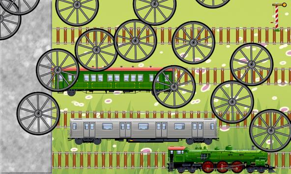 Toy Train Puzzles for Toddlers - Kids Train Game screenshot 2