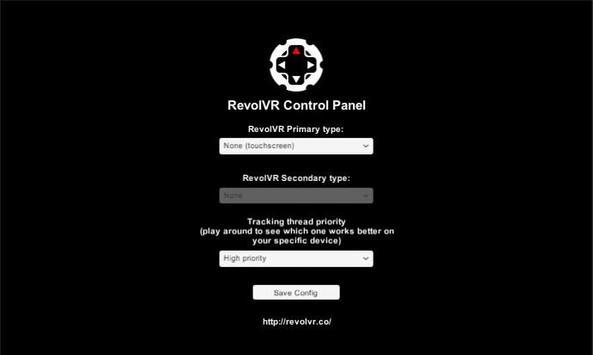 RevolVR Control Panel poster
