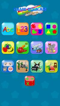 Game Edukasi Anak : All in 1 poster