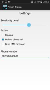 Noise Alarm apk screenshot