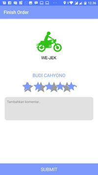 Driver Wejek apk screenshot