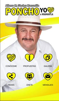 Poncho Manzanilla poster