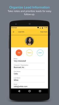 Lead Retrieval & Mobile CRM apk screenshot