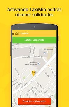 TaxiMío Taxista screenshot 1