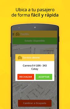 TaxiMío Taxista screenshot 2