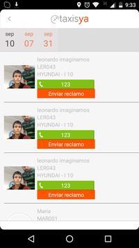 Taxis Ya screenshot 4