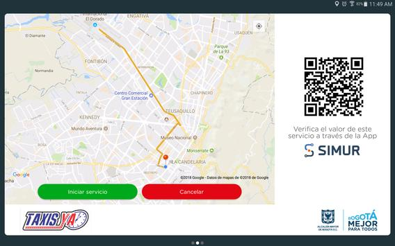TaxisYa Pasajero screenshot 2