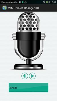 MIMO Voice Changer 3D screenshot 1