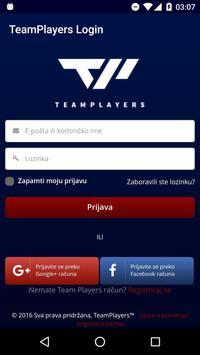 TeamPlayers apk screenshot