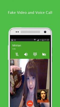 Video Call For Whatapp Prank poster