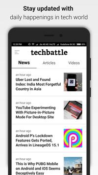 TechBattle poster