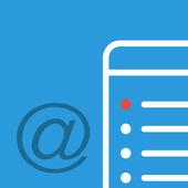 Mail Notes biểu tượng
