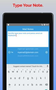 Mail Notes screenshot 8