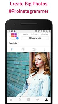 Grid Photo Maker for Instagram - PhotoSplit poster