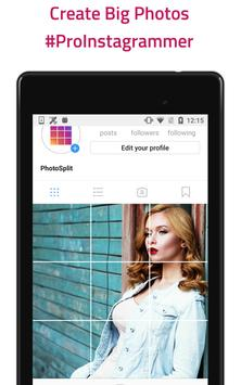 Grid Photo Maker for Instagram - PhotoSplit screenshot 10