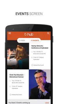 T Hub screenshot 1