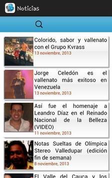 BlogVallenato screenshot 1
