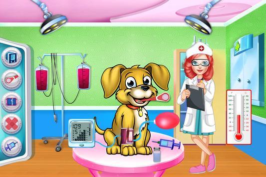 Fluffy Pets Vet Doctor Care 2 screenshot 2