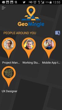 GeoMingle poster
