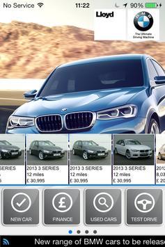 Lloyd Motors Group BMW poster