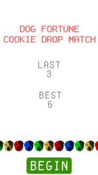 Dog Fortune Cookie Drop Match apk screenshot