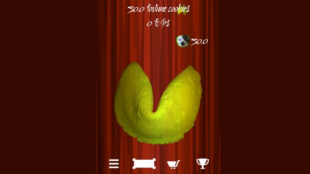 Fortune Cookie Tap Click Smash apk screenshot