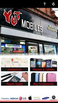Yut Mobiles UK poster