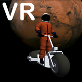 VR Space Bike Racer - No Gyroscope icon