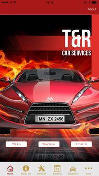 T & R Car Servicing poster