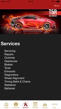 T & R Car Servicing apk screenshot