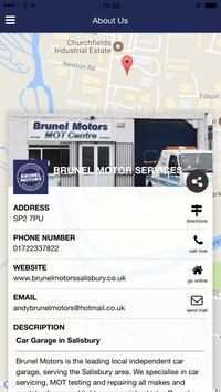 Brunel Motors apk screenshot