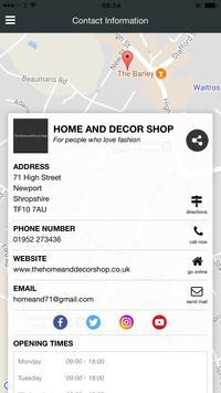 The Home And Decor Shop screenshot 1